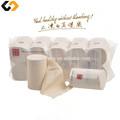 Paja de trigo pulpa Nonbleaching Soluble en agua de papel higiénico