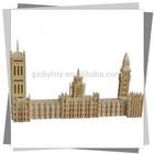 creative BIG BEN 3D puzzle/educational model/ international structure/ symbol building