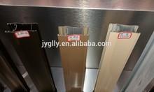 Beautiful design aluminum door profile (aluminum profile for closet door, aluminium extrusion profile)