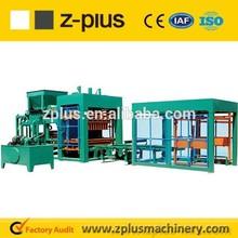 automatic building bricks making machine QTY6-15 medium investment