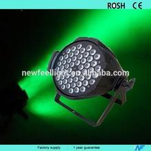 LED 54pcs 3W RGBW led dj Par Light disco bar show lights