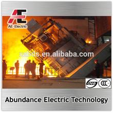 Electric steel melting furnace/steel making machinery hot sale