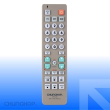UR130 Universal Remote Control with operation 3 devices with 1 remote