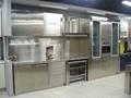 personalizado de acero inoxidable modular gabinetes de la cocina