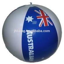 "18"" PVC inflatable beach ball"