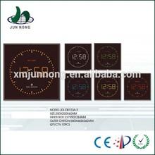 2015 Unique design types digital wall clock led display