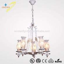 vintage retro lighting pendant lamp indoor decorative chandelier oil lamps chandelier wholesale GZ80001-5A