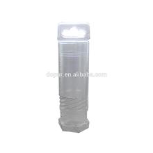 PVC hexagon telescopic plastic transparent square pipe for tool