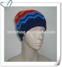 Cheap Zigzag Knit Hat