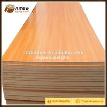 Mdf cru plain mdf 1830 * 3660 mm da China fabricante Hbtimber