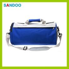 2015 China supplier custom gym bag shoe compartment, wholesale gym bag