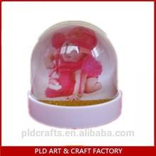 Water Globe & Snow Globe Product Type and Resin,plastic Material Plastic Custom Photo Snow Globe