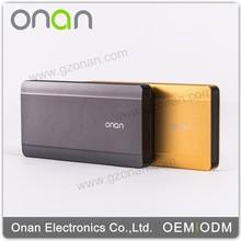Onan 2015 New Products Polymer Aluminum Powerbank 10000Mah