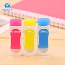 new design high quality mini temperature control pen eraser,gel pen with eraser
