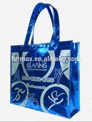 2015 Farmax pp non woven fabric color full shopping bag