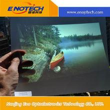 HD transparent rear projection screen film, IMax 3d cinema screen film