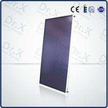 Tinxoy coating flat plate panel solar collector