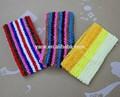 crochet elástico del pelo bandas para la cabeza neta para los adolescentes