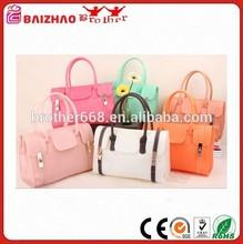 2015 lastest design candy lady bag fashion silicone handbag