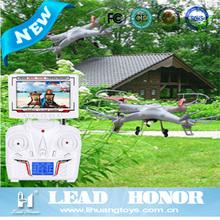 2.4G 4CH QUAD DRONE FPV DRONE FPV QUADCOPTER UFO RC (REALTIME & LCD)