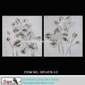 Pintura al óleo imágenes de frutas 100% hechos a mano textura pesada gris antiguo de flores pintura al óleo sobre lienzo