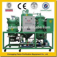 Física pura filtro de envío equipo de extremo a extremo de reciclaje de aceite de cocina usado