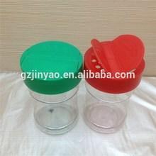 63mm plastic flip top shaking cap lid for Food, seasoning, Spice, Garlic Pepper jars and bottles
