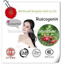 Herbal Butchers Broom Extract/Ruscus Aculeatus Root Extract 10%,20% Ruscogenins/CAS NO.:84012-38-4