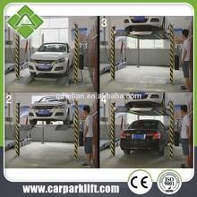 four post car parking lifts /4 post auto car parking equipment /four poles auto car lifter