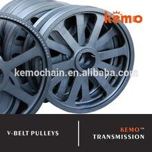 Large V belt pulleys