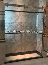Bath shower screeens PVC shower screens glass shower screen price