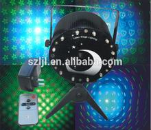 (HS-WT05)Laser LED Lights Starry Sky/Heart/Pentagram Pattern and Designs(EU Plug)