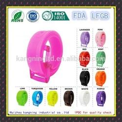 High quality silicone strap, silicone rubber wrist watch strap, silicone rubber strap