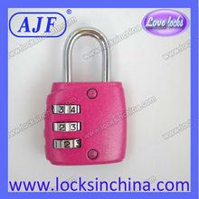 AJF Fashionable padlock code for luggage