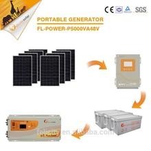 Felicity energy storage 5000W 220V off grid solar module system for home