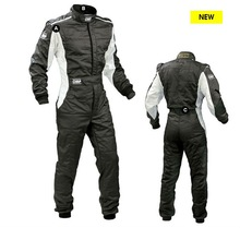 black color motorcycle and auto racing wear
