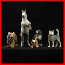 China Supplier Fashionable Cute Variety Animal Plastic Statues