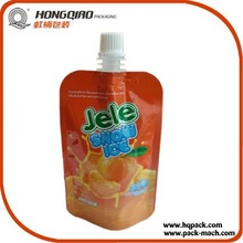 Juice Packaging Material Aluminium Foil Bag With Spout