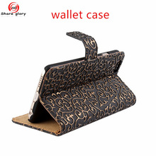 PU Leather Phone Case and Card Bag Handbag Cover Case For Iphone 5 5S 02