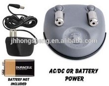 battery or adaptor power source Laser Parking