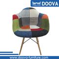 eames nylon tecido cadeira com as pernas de madeira