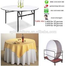 1.5M,1.6M,1.8M diameter round wedding table for event