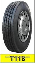 Truck tires 295/75R22.5 FAMOUSE BRAND: THREE-A, YATAI, SHENGTAI, YATONG, SANJIA, EA GOOD, AOTELI
