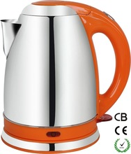 1.5L1.8L cordless stainless steel electric kettle