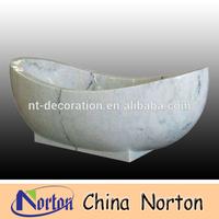 indoor used white marble bathtub price NTS-BA028