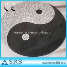 Chinese traditional pattern yin and yang granite mosaic medallion
