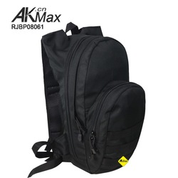 Black Multi-Funtion Military hydration backpack With TPU Bladder