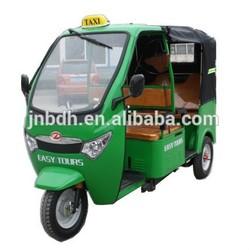 Bajaj three wheel motorcycle, three wheel covered motorcycle,tuk tuk for sale