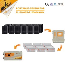 Complete set domestic clean safe energy high power 10kW off grid pv solar system for generating