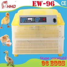 96 completamente automática de pollo pato y de codorniz y plumas de ganso de huevos